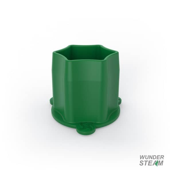 WunderSteam Dampfgar-Kamin für Varoma - grün