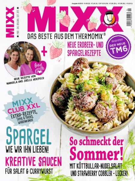 Zeitschrift MIXX - Ausgabe 04/2019 (Mai/Juni)